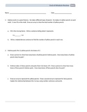 NYS Math - Grade 3 - Module 1 - End of Module Review Sheet
