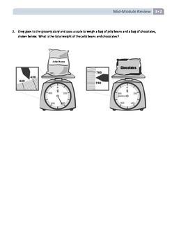 NYS Math - Grade 3 - Module 2 Mid-Module Review Sheet