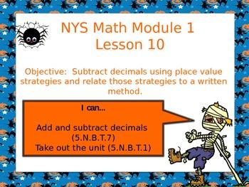 NYS Math Module 1 Lesson 10 Grade 5