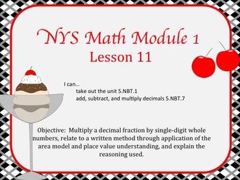 NYS Math Module 1 Lesson 11 Grade 5