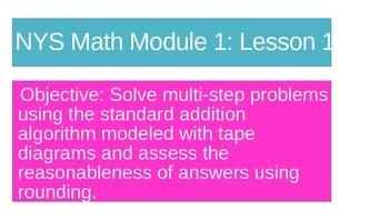 NYS Math Module 1 Lesson 12