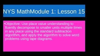 NYS Math Module 1 Lesson 15