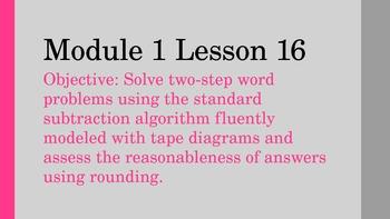 NYS Math Module 1 Lesson 16