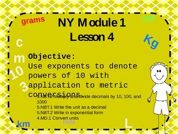 NYS Math Module 1 Lesson 4 Grade 5