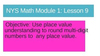 NYS Math Module 1 Lesson 9