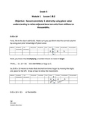 Grade 5 NYS Math Module 1 Lessons 1 & 2 student/parent guide