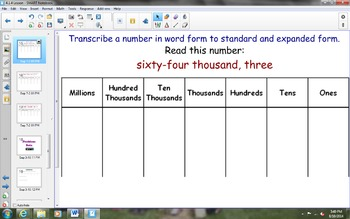 NYS Math Module 1, Topic A, Lesson 4 Notebook Lesson