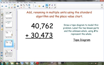NYS Math Module 1, Topic D, Lesson 11 Notebook Lesson