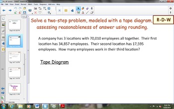 NYS Math Module 1, Topic E, Lesson 16 Notebook Lesson
