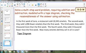 NYS Math Module 1, Topic E, Lesson 18 Notebook Lesson