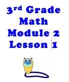 3RD GRADE NYS Math Module 2 Lesson 1 SMART Notebook