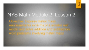 NYS Math Module 2 Lesson 2
