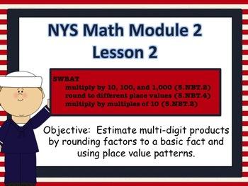 NYS Math Module 2 Lesson 2 Grade 5