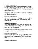 NYS Math Module 4 Grade 2 - Application Problems