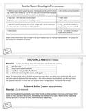 Engage New York / Eureka Math - K - Fluency Activity Cards Module 1 C
