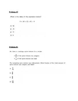 NYS Math Test Prep Grade 5