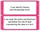 NYS Next Generation Learning Standards - I Can Statements - Kindergarten ELA