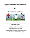 NYS Physical Education Standards posters