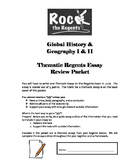 NYS Regents Global History & Geography Thematic Essay Practice