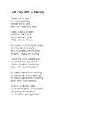NYS Test: ELA poem