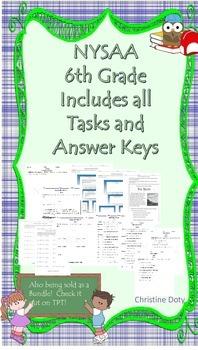 NYSAA 6th Grade ELA/Math tasks and answer keys Revised