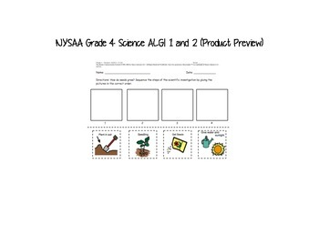 NYSAA Grade 4 Science 2014-2015