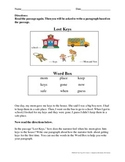 NYSESLAT 2015 Grades 1-2 Short Constructed Response Test Prep (Story 2)