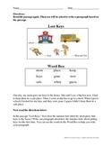 NYSESLAT 2015 Grades 1-2 Short Constructed Response Test P