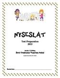 NYSESLAT 2015 Grades 1-2 Short Constructed Response Writing Packet