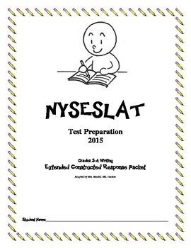 NYSESLAT 2015 Grades 3-4 Extended Constructed Response Wri