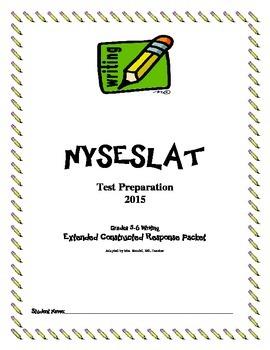 NYSESLAT 2015 Grades 5-6 Extended Constructed Response Wri