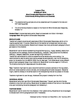 NYSESLAT 2015 Grades 1 - 2 Test Prep Lesson and Item Short