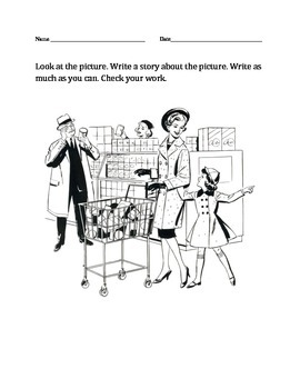 Updated: GRADES 1-2 PICTURE-BASED STORY PACKET