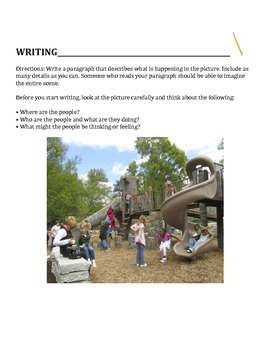Updated: GRADES 3-12 Descriptive Writing Paragraph