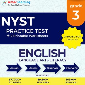 New York State Test Prep 3rd Grade English Language Arts (ELA) Practice Test