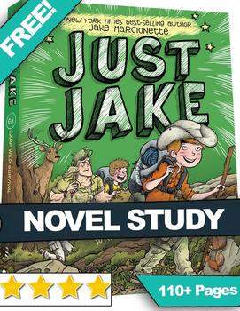FREE NYT Best Seller Just Jake #3 Novel Study - READING QU