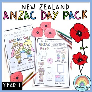 NZ ANZAC Day Pack - Year 1