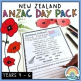 NZ ANZAC Day Pack - Years 4 - 6 (New Zealand Anzac Day Act
