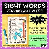 NZ Colour Wheel Sight Words Practice Worksheets, 314 pages