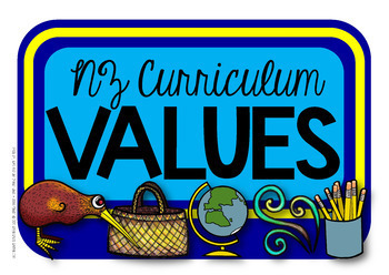 Values & NZ Curriculum Key Competencies {Display Labels}
