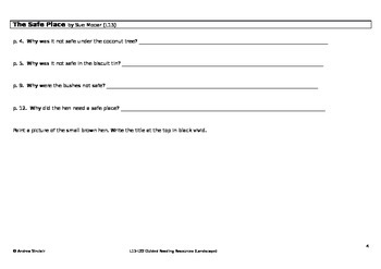 NZ Guided Reading Resources L13-22 (Landscape)