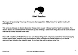 NZ Guided Reading Resources Senior Journals (Blooms)