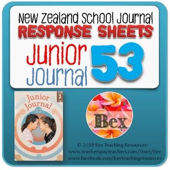 NZ Junior Journal 53 Reading Responses