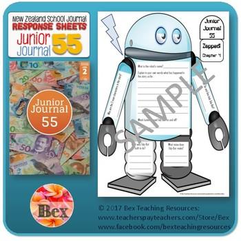 NZ Junior Journal 55 Reading Responses