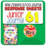 NZ Junior Journal 61 Reading Responses
