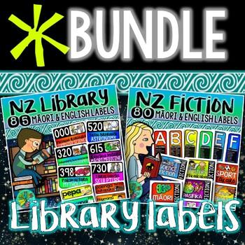 NZ Library Label BUNDLE