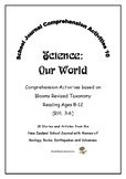 NZ School Journal Comprehension Pack 10: Our World
