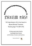 NZ School Journal Comprehension Pack 13: Dream Big!