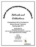 NZ School Journal Comprehension Pack 5: Festivals and Cele