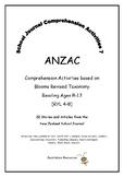 NZ School Journal Comprehension Pack 7: ANZAC
